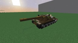 T-55A | German Medium Tank Minecraft Map & Project