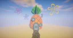 Spongebob's Pineapple House Minecraft