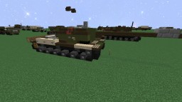 ISU-152 | Soviet Heavy Assault Gun Minecraft Project