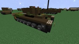 Kliment Voroshilov KV-1 | Heavy Tank Minecraft Project
