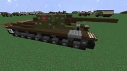 SU-100Y | Self-Propelled-Gun Minecraft Map & Project