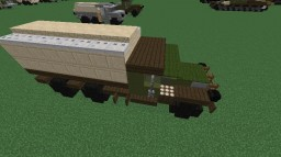 GMC CCKW | 2 1⁄2-ton 6×6 Cargo truck Minecraft Project