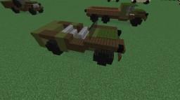 GAZ-67 | 4x4 Utility Jeep Minecraft Map & Project