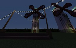 Into the Wind (Spirited Away Inspired Fantasy Adventure Map) 1.11 Minecraft Project