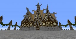 Nordic large building Minecraft Project