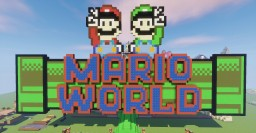 Mario World Amusement Park Minecraft Project