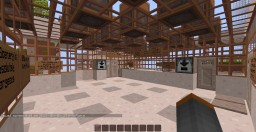 The Vaughn Hotel: The Biggest Furnished Minecraft Hotel Map Ever! Minecraft Map & Project