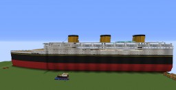 MV Oceanic 1.8:1 Scale!! Minecraft