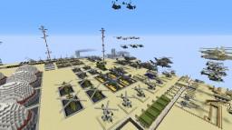 Dessert Military base [skyl1nker236 base] Minecraft Map & Project