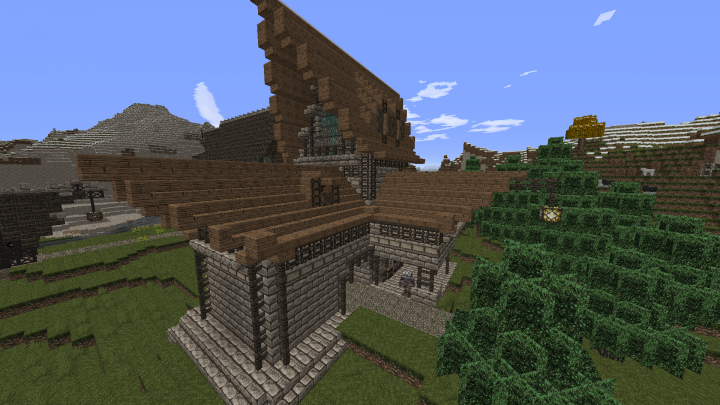 how to build a blacksmith house in minecraft