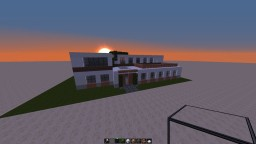 large modern house Minecraft Project