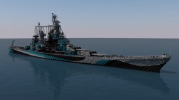 USS Missouri - 4:1 Scale Minecraft