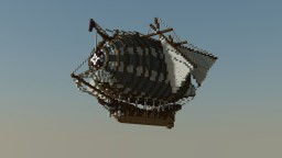 Fantasy Airship Minecraft Project