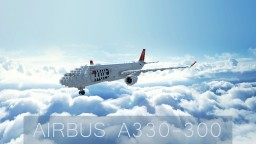 Airbus A330-300 Minecraft Map & Project