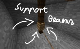 Support beams to Minecraft -- Minedeas 2 Minecraft Blog Post