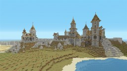 Crumbling castle on the outer wall of Ephedion Minecraft Project
