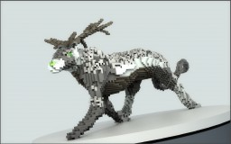 Doglike animal with antlers Minecraft