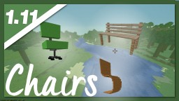 How to Sit in Minecraft   +3D Chairs   free Download Minecraft Map & Project