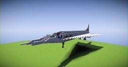 British Airways BAC Concorde (Updated) Minecraft Project