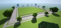 """Behind the Picket Fence"" Contest Map Minecraft Project"