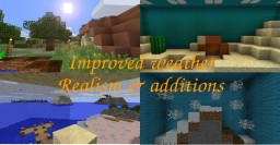 Improved weather - Realism & additions Minecraft Blog Post