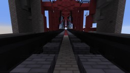 Hells Gate Bridge Minecraft Project