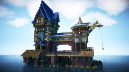 How To Build A Medieval Lake Village Building Minecraft Project
