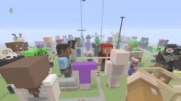 Pixel art world 100+ builds Minecraft Project