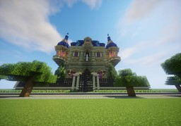 Marcurius Villa Minecraft Map & Project