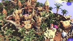 [Minecraft Timelapse] Medieval Island City Minecraft Map & Project