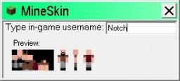MineSkin Minecraft Mod