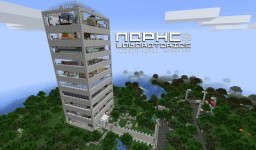 NephCOLaboratories Corporate Center Schematic Minecraft Project