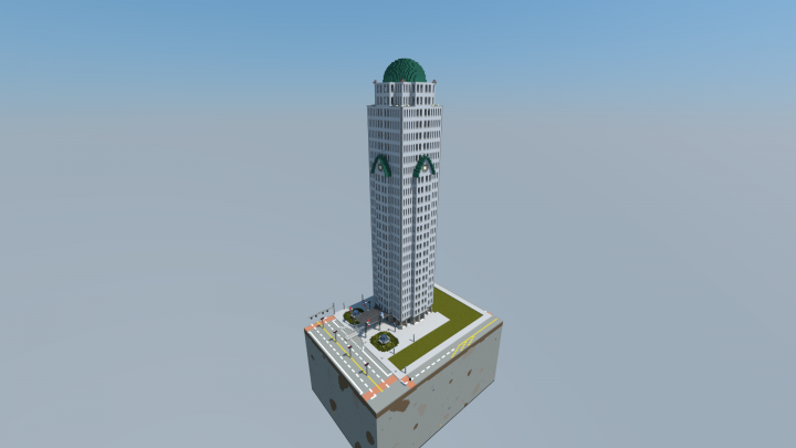 Centraltower Newportcity Project Minecraft Project