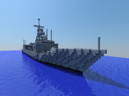 Oliver Hazard Perry class Frigate, Block 1B Minecraft Project