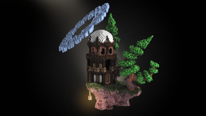 spooky dark render edit