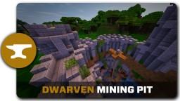 Dwarven Mining Pit Tutorial Minecraft Map & Project