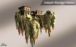 Desert Escape Home | Behind the Picket Fence Minecraft Project