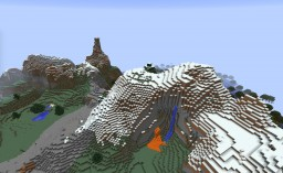 Mountain Improvement! Linear Mountains and Fractals Minecraft Blog Post