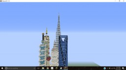 City With the Biggest Buildings (1:4 Scale) Minecraft Project