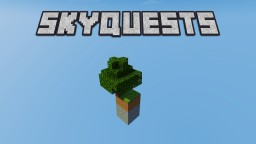 SkyQuests - Skyblock avec quêtes [FR] Minecraft Map & Project
