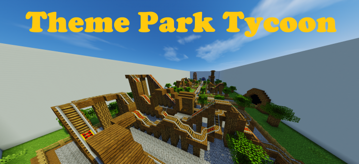 Theme Park Tycoon Minecraft Project