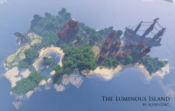 The Luminous Island - a Medieval Town/Castle Minecraft Project