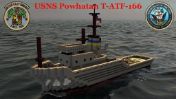 USNS Powhatan (T-ATF-166) Minecraft Map & Project