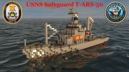 USNS Safeguard (T-ARS-50) Minecraft Map & Project