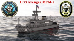 USS Avenger (MCM-1) Minecraft Project