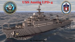 USS Austin (LPD-4) Minecraft Map & Project