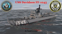 USS Davidson (FF-1045) Minecraft Project