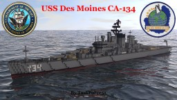USS Des Moines (CA-134) Minecraft Project