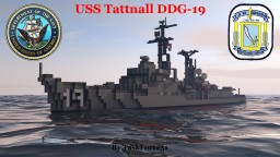 USS Tattnall (DDG-19) Minecraft Map & Project