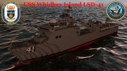 USS Whidbey Island (LSD-41) Minecraft Map & Project
